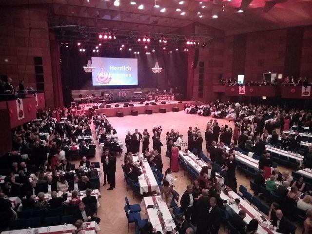 Ball der Union mit MIssFIZZ auf der Hauptbühne Meistersingerhalle Nürnberg